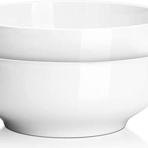"Large Porcelain Bowl 9.5"""